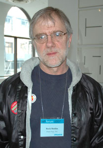 photo of Howie Hawkins by Thomas Good